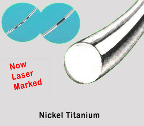 Super Elastic Nitinol Otthodontic Wire - Round - (Pk 100)