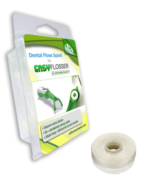 dental floss spool for easyflosser