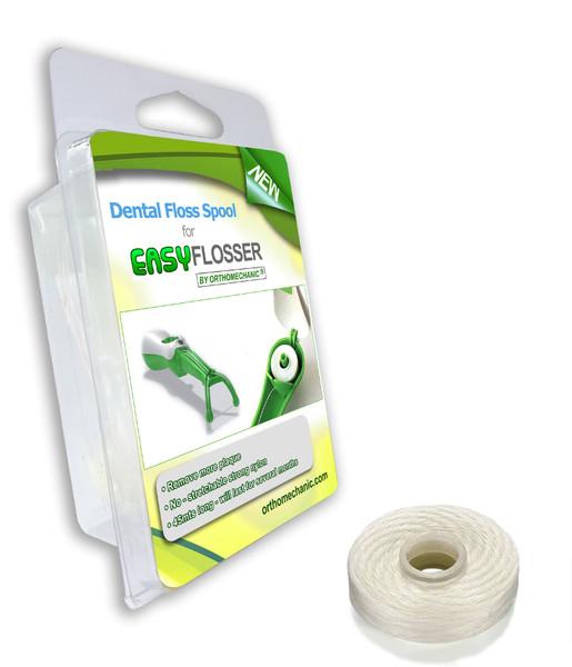 dental floss spool for easyflosser
