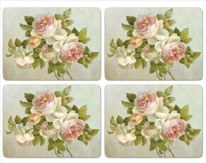 Antique Rose Placemats