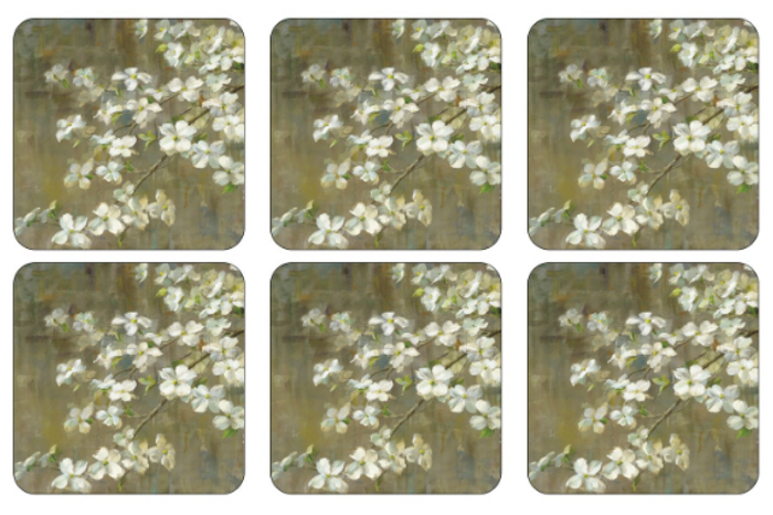 Dogwood in Spring Coasters