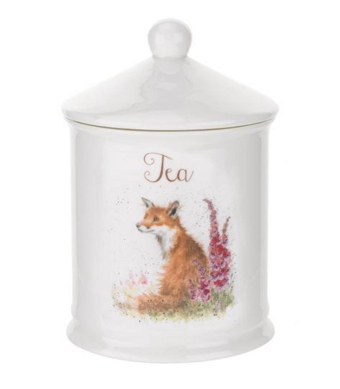 Wrendale Designs Fox Tea Canister