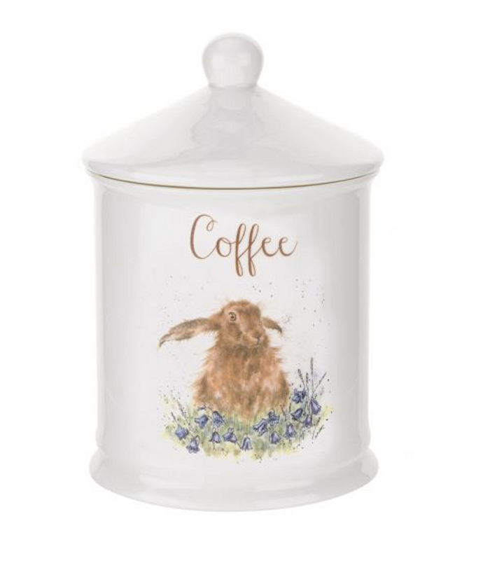 Wrendale Designs Hare Coffee Canister
