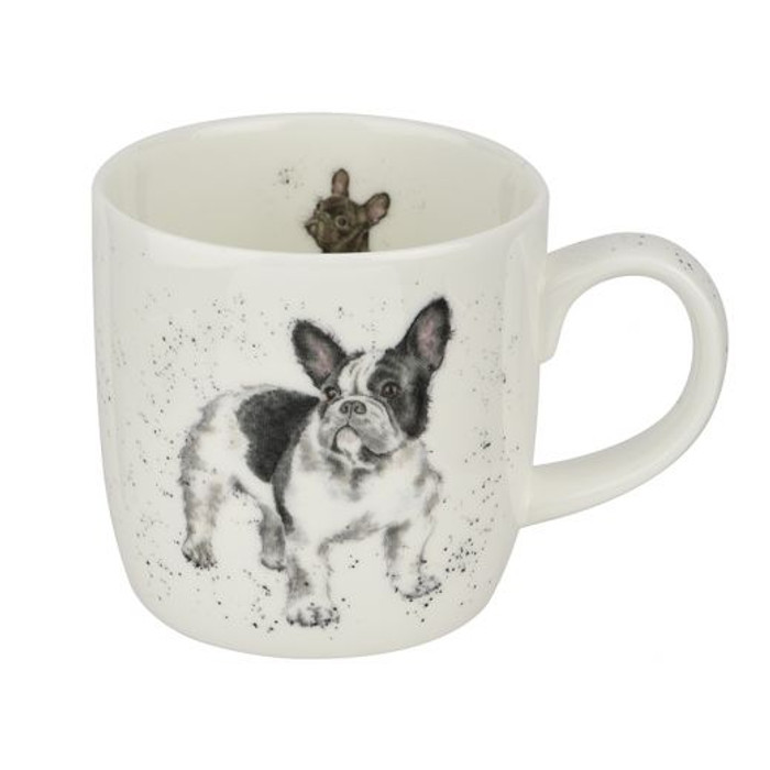 Wrendale Designs Frenchie Mug