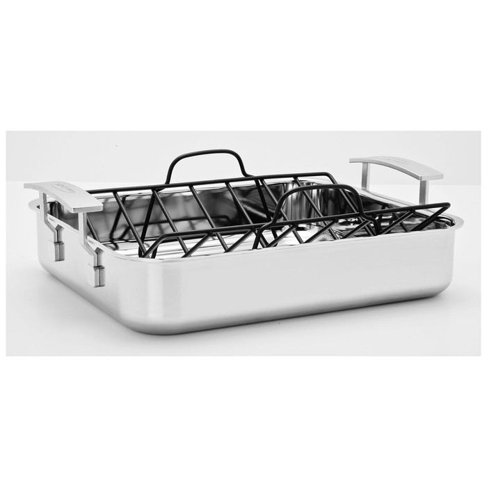 Demeyere Industry Roasting Pan with Rack
