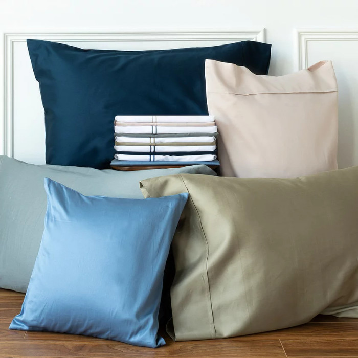 Capri Single Satin Stitch Pillow Cases