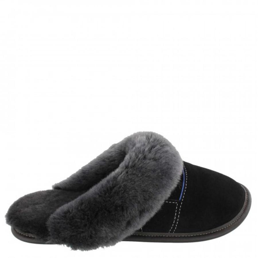 Black with Silverfox Fur