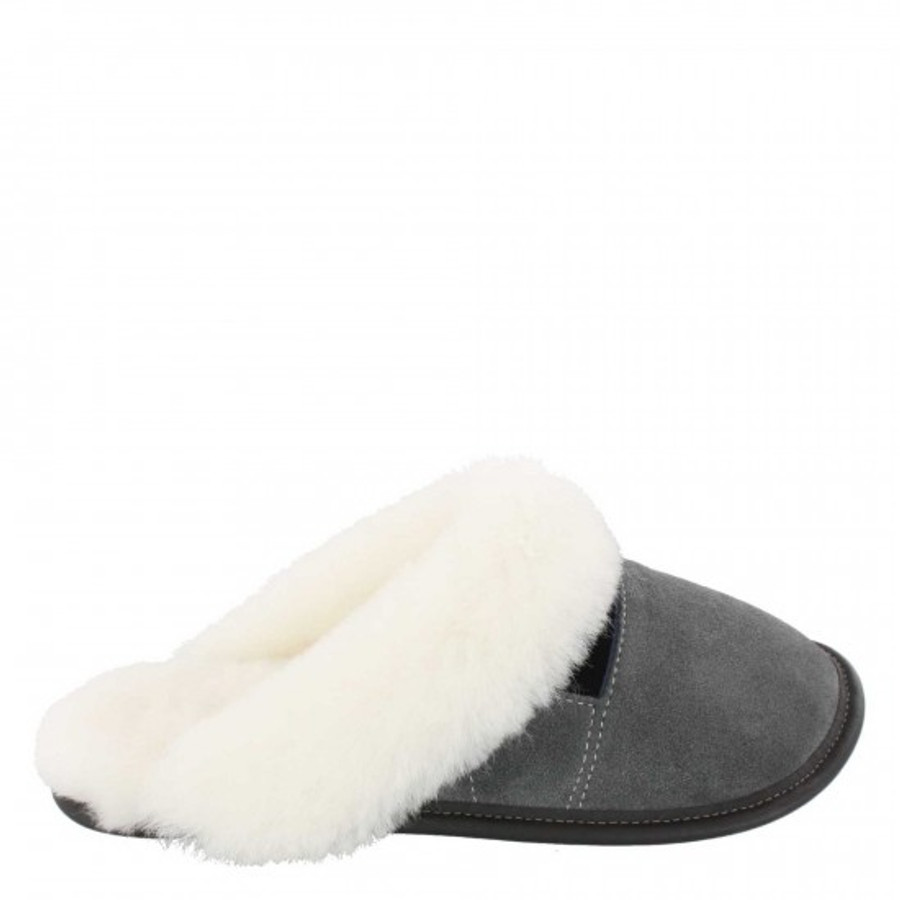 Charcoal with White Fur