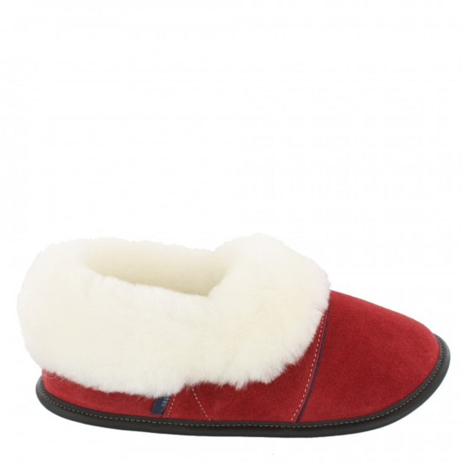 Santa Red with White Fur