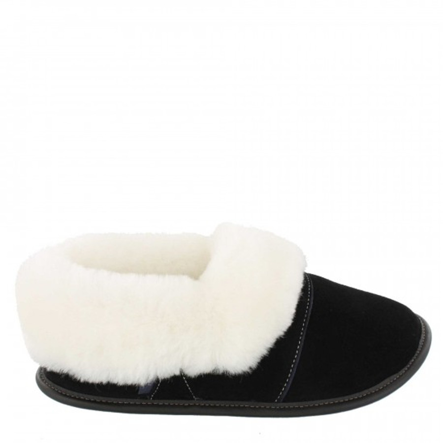 Black with White Fur