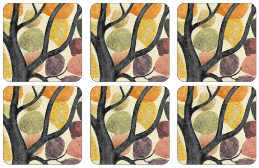 Dancing Branches Coasters