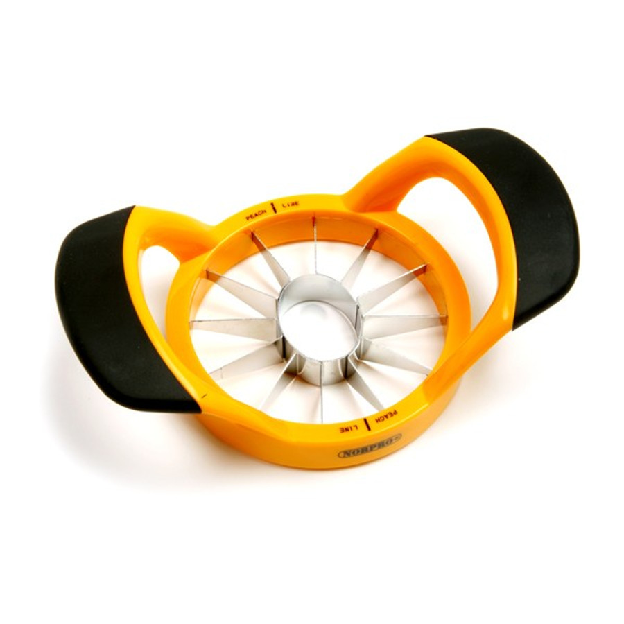 Norpro GripEZ Peach wedger and Pitter