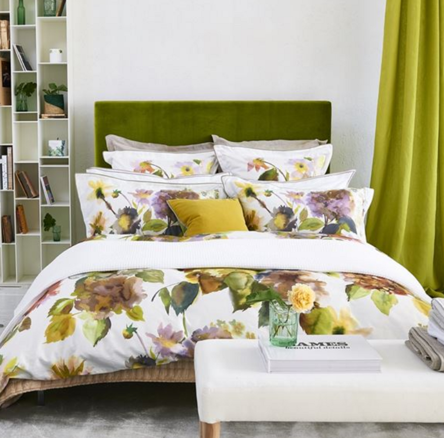 Palace Flower Duvet Cover