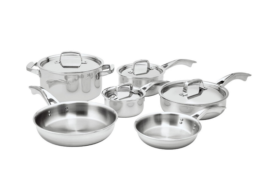 Tru-Clad 10pc Cookware Set