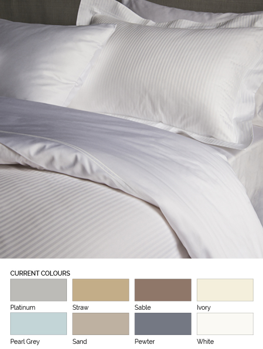 Savoy Solid Fitted Sheet