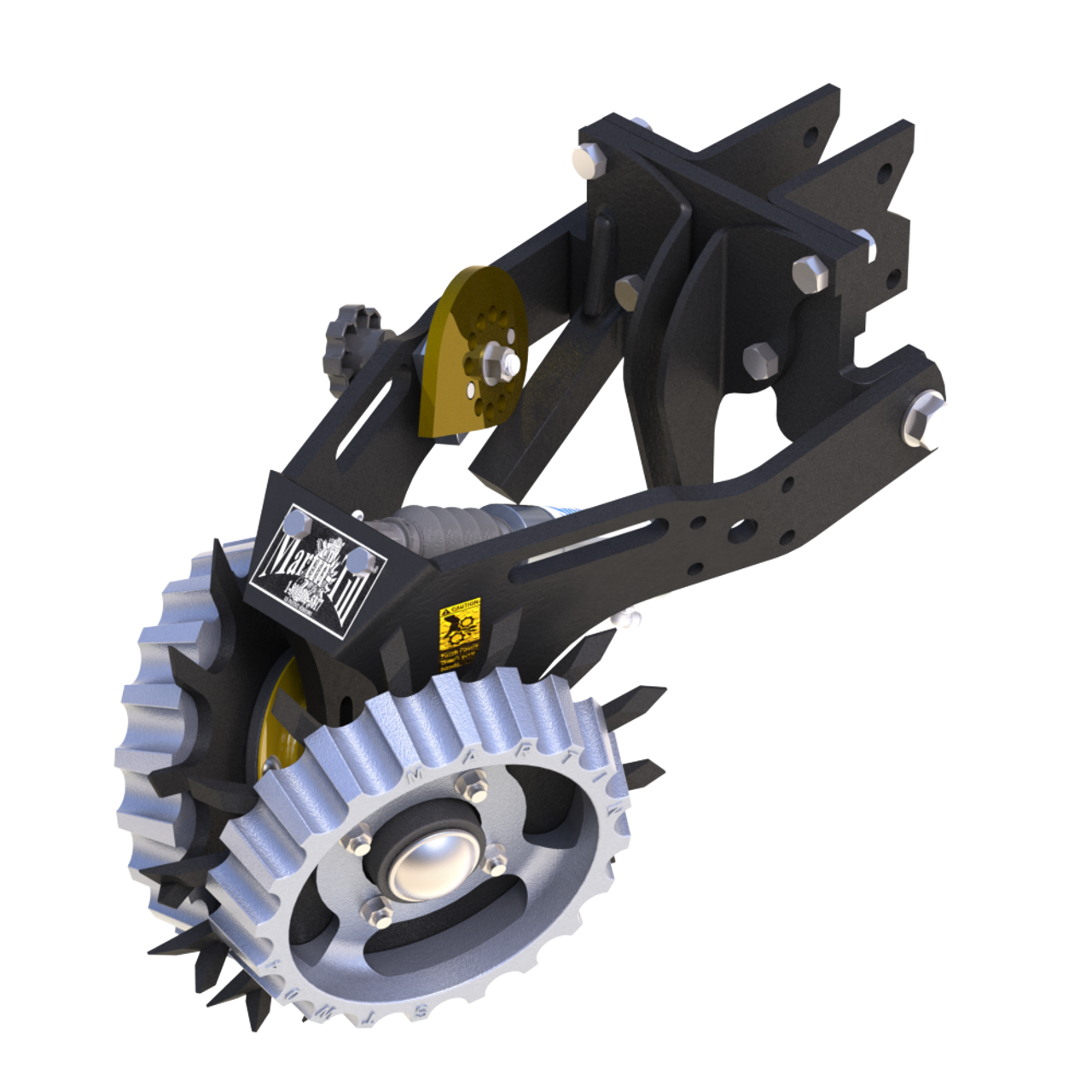 Shown with optional Side Treader Wheels (STW-04A) and Cam Adjust (CA03-1345)