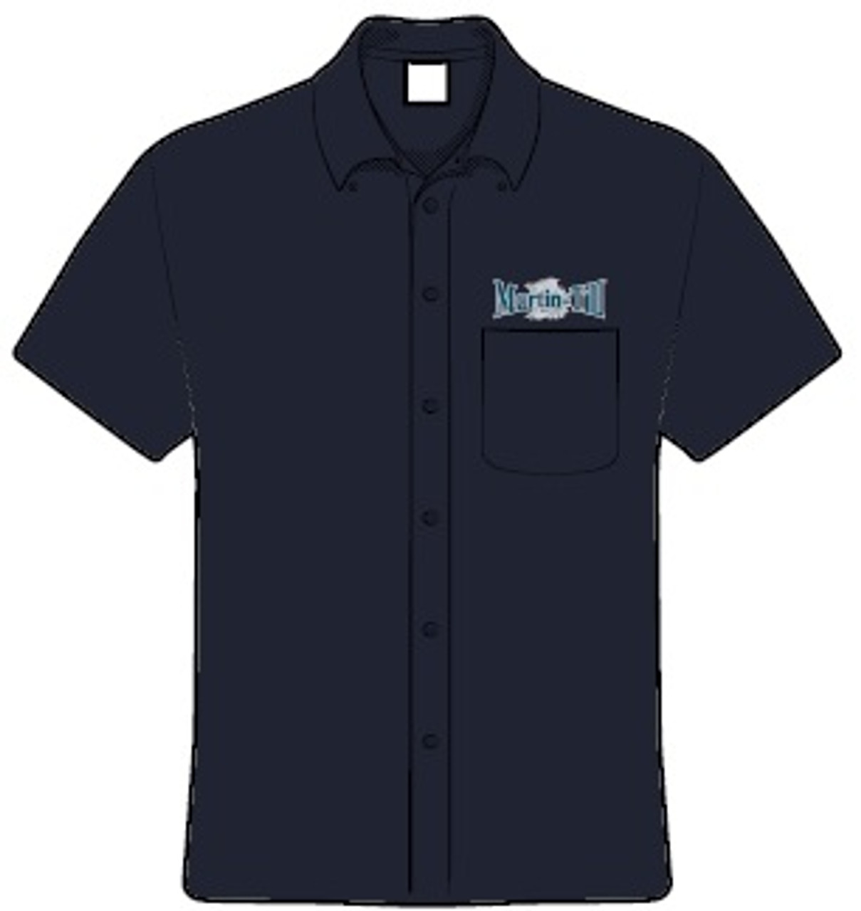 Adult Short Sleeve Twill Shirt (M500S)