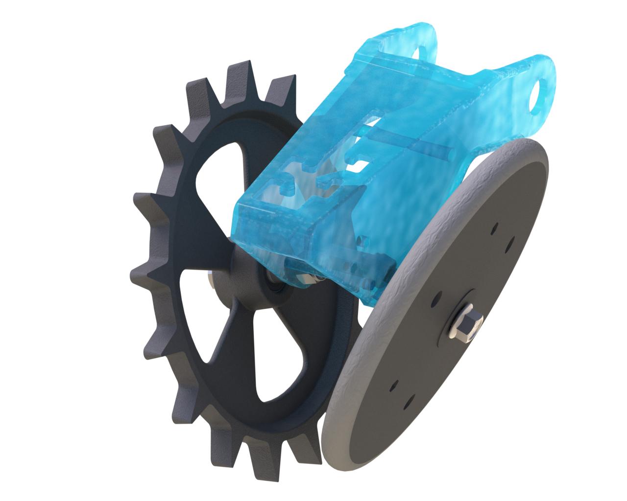 fCrusher Closing Wheel, Rubber factory wheel