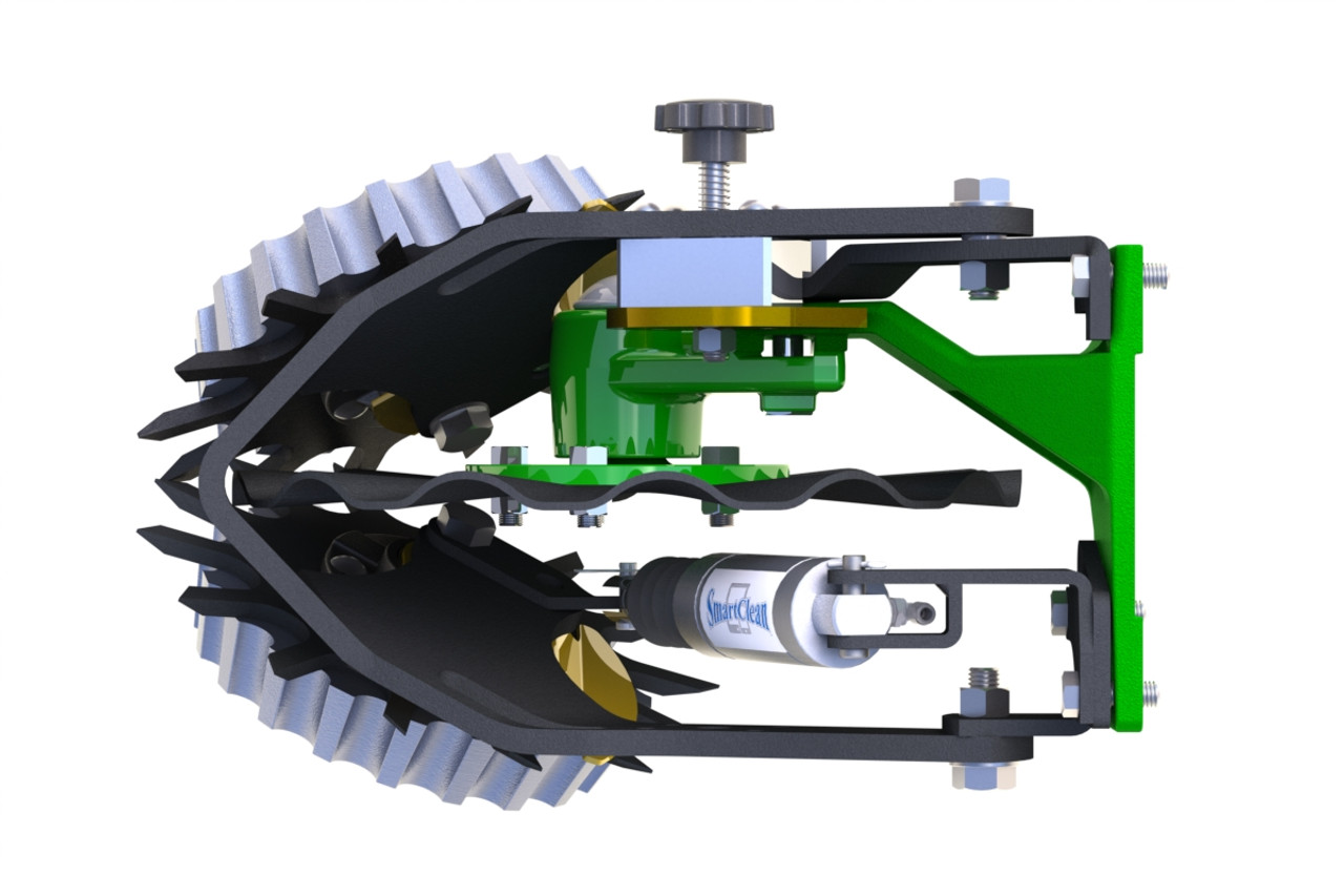 Shown with optional Side Treader Wheels (STW-04A), Cam Adjust (CA-03D) & Smart Clean Cylinder (SC-CYL-2X2)