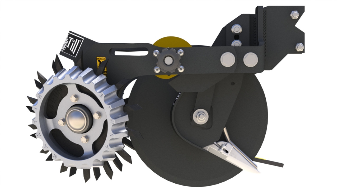 Shown with optional Side Treader Wheel (STW-04A) and Cam Adjust (CA-03D)