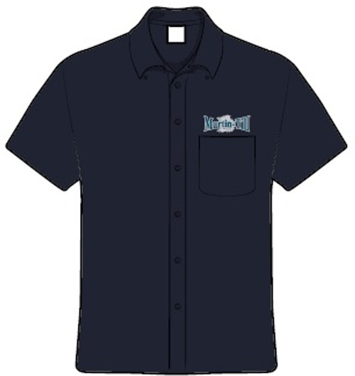 Adult Short Sleeve Twill Shirt (M500S)