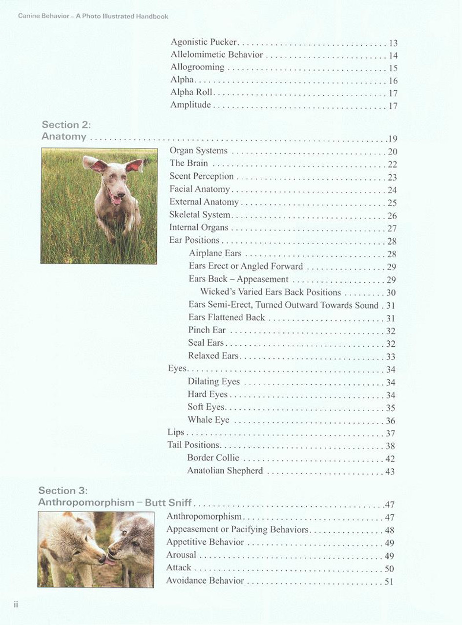 Canine Behavior A Photo Illustrated Handbook Dogwise
