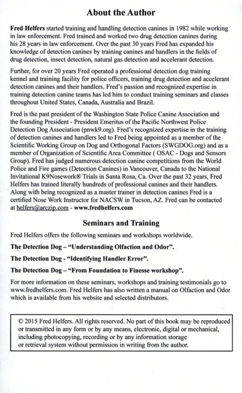 The Nosework Dog Performance Journal