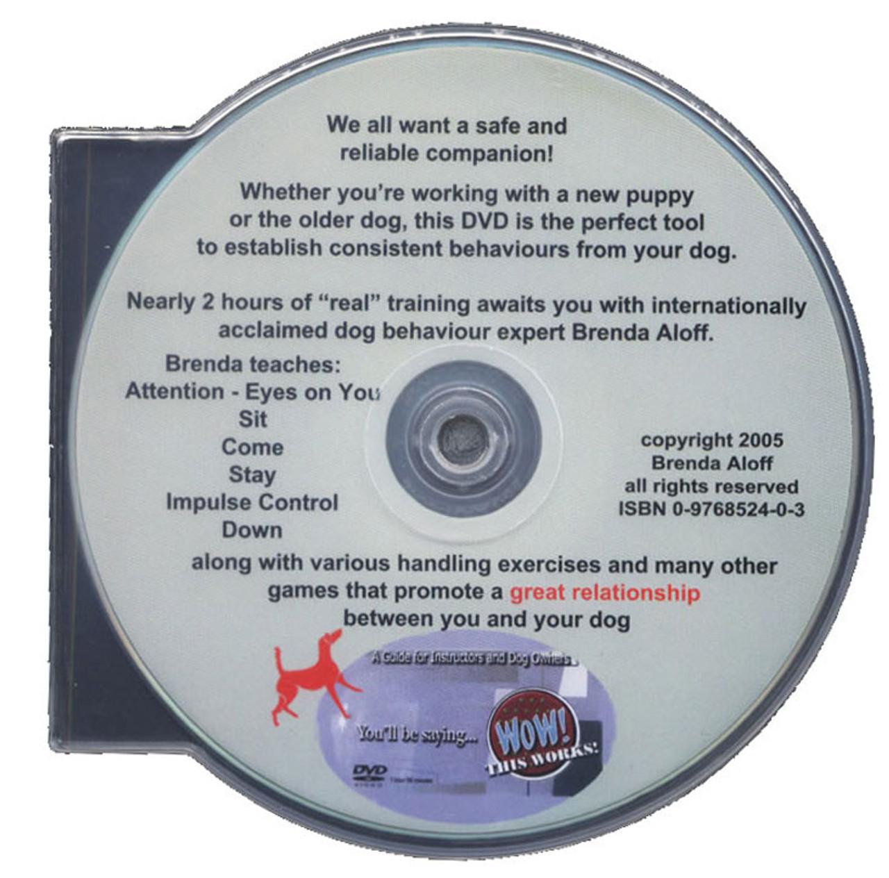 Brenda Aloff's Fundamentals - Foundation Training for Every Dog Dvd