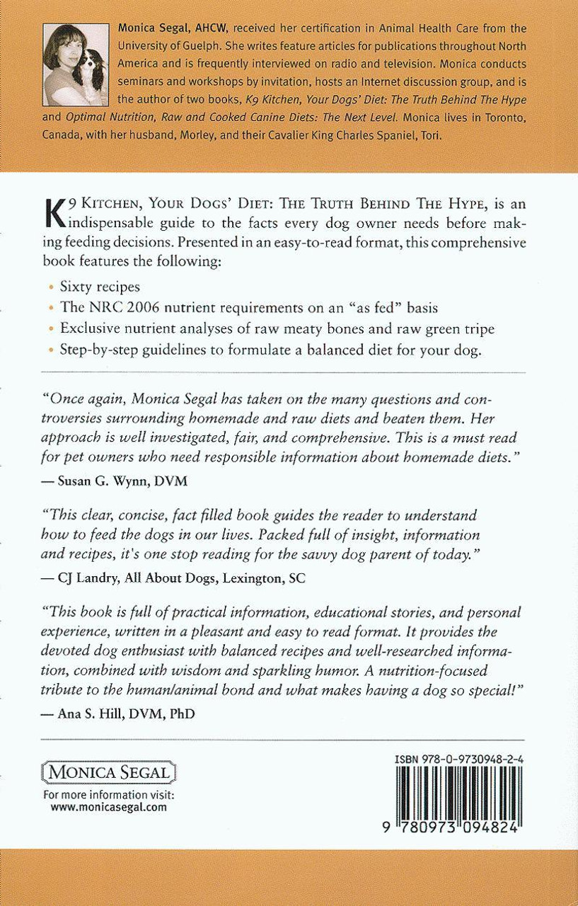 Ebook: K9 Kitchen - Your Dogs' Diet: The Truth Behind The Hype, 2nd Edition