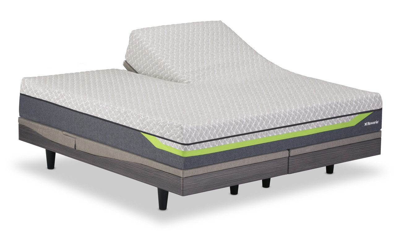 Dream Supreme Ii Hybrid King Mattress Split Top By Reverie Pure Comfort