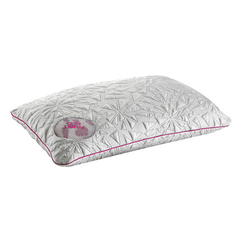 mist pillow, bedgear storm 0.0 perfect sleep every night, different sizes for different body types and all kinds of types of sleepers, slides between your body and the mattress and won't create pressure against the sensitive areas of your face, ear and neck making it perfect for stomach sleepers and small body types