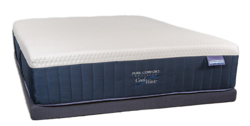 Cool Wave Soft Queen Mattress by Pure Comfort
