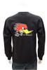Mr. Horsepower Long Sleeve Black T-Shirt