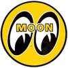 """Mooneyes Sticker 8"""" Round"""