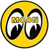 "Mooneyes Sticker 5"" Round"