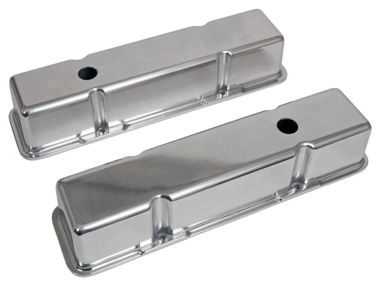 Small Block Chevrolet Tall  Plain Valve Covers
