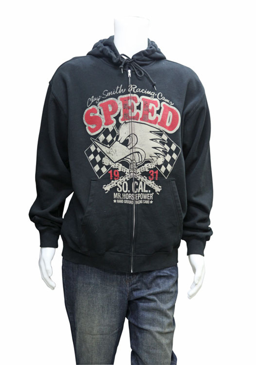 "Mr. Horsepower ""SPEED"" Hoodie Sweat Shirt"