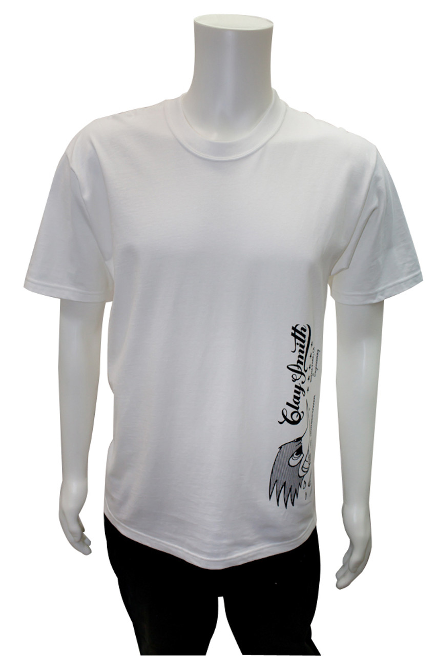 Mr. Horsepower Clay Smith White Star T-Shirt