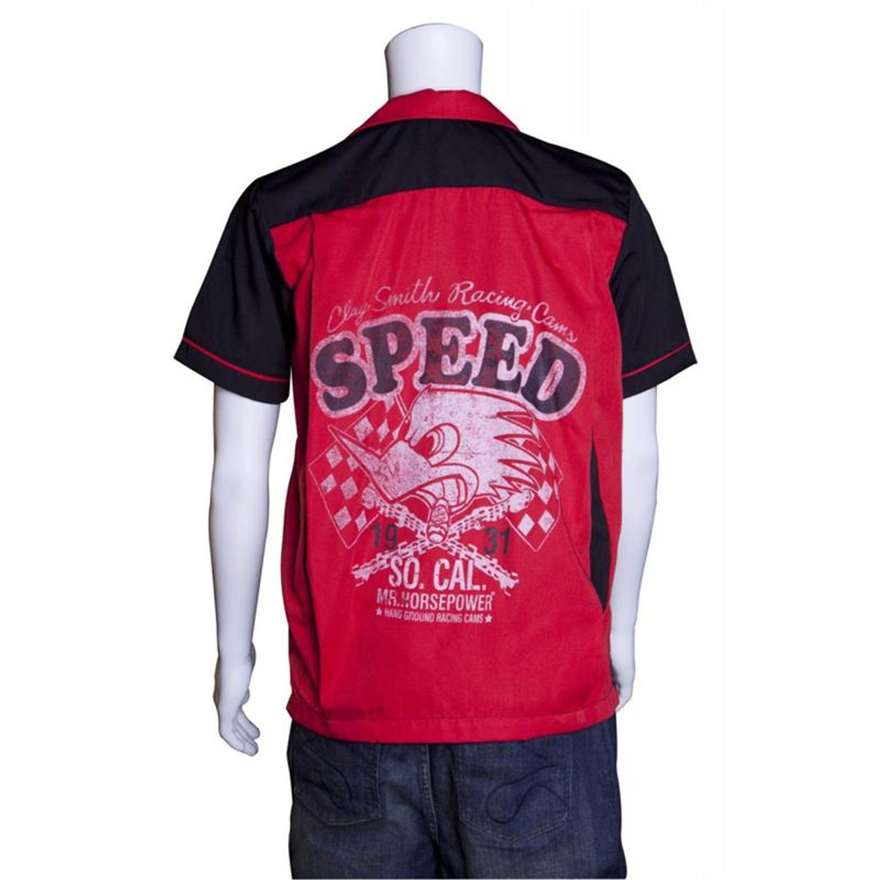 "Mr. Horsepower ""Speed"" Bowler Shirt"