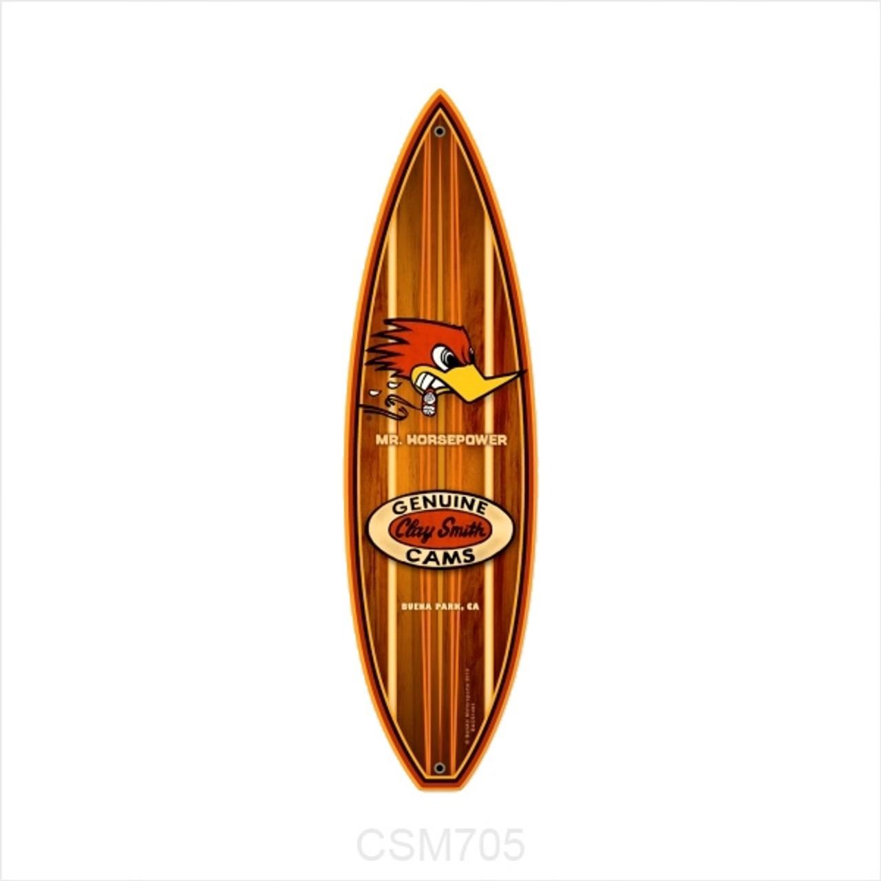 Genuine Clay Smith Cams Surfboard
