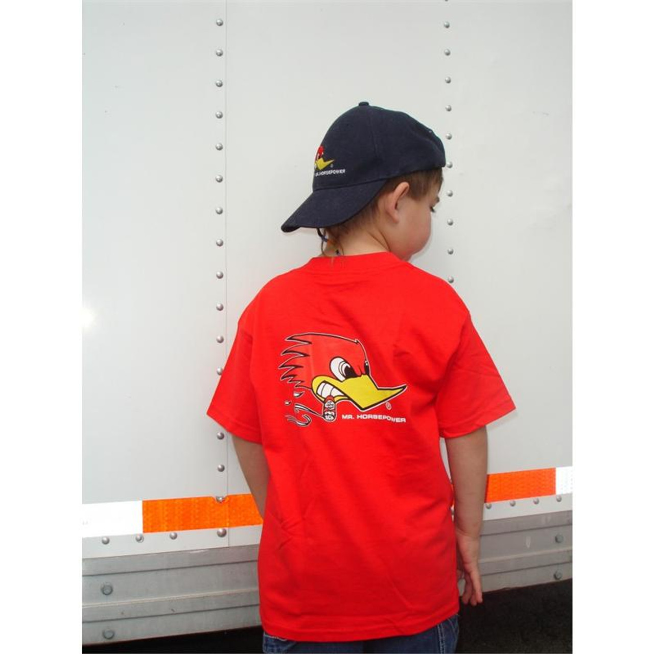 Youth /Toddler Mr. Horsepower Traditional Design T-Shirt - Red