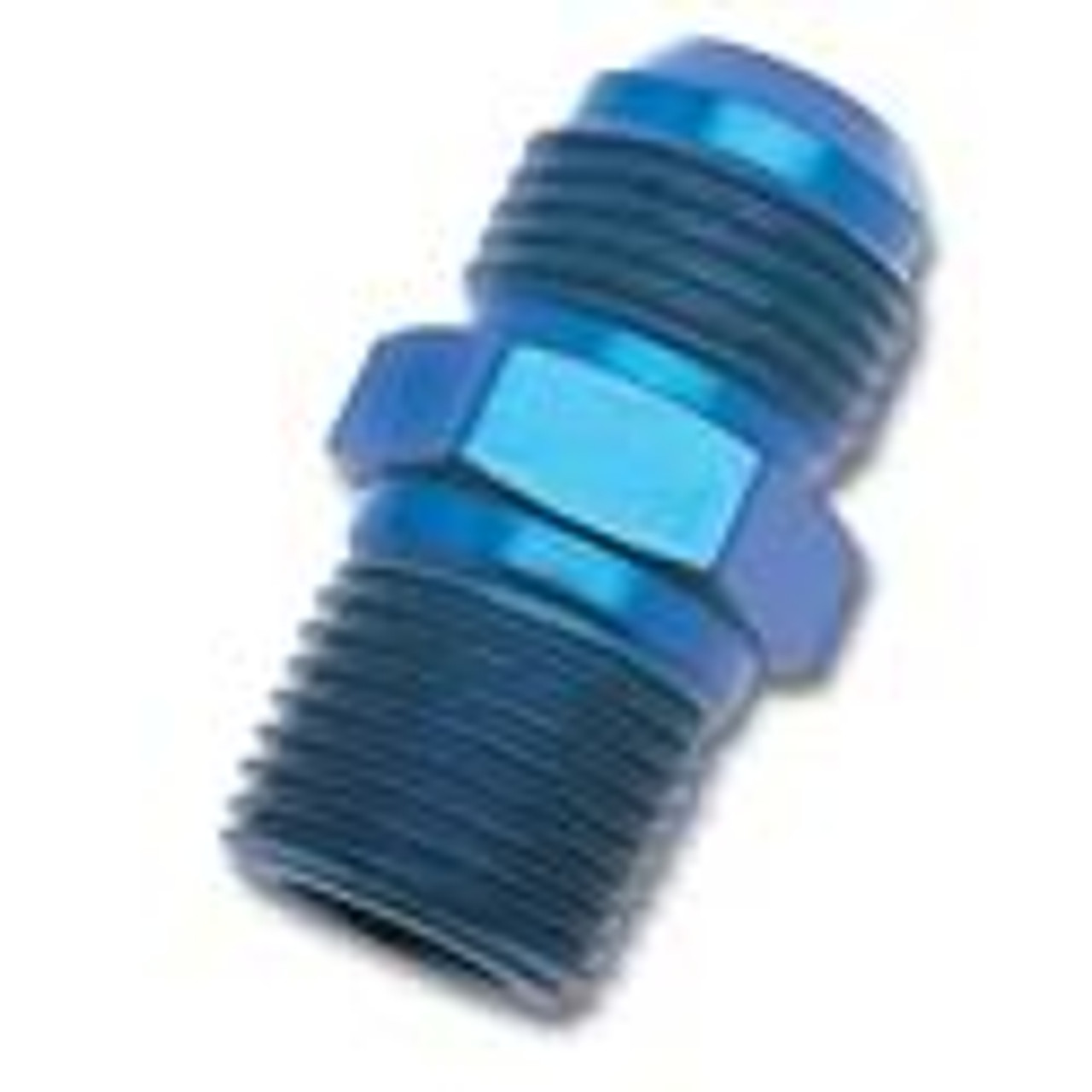 Russell Straight -6 AN to 3/8 Pipe Adapter Fitting