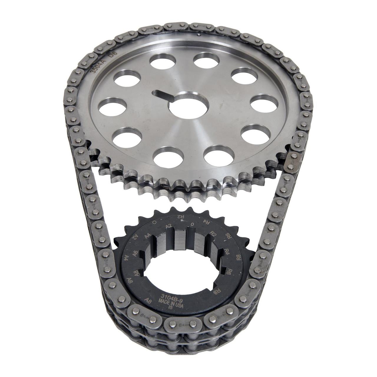 """Chrysler """"B""""  Billet True Roller 1 Bolt (9 key Way)"""