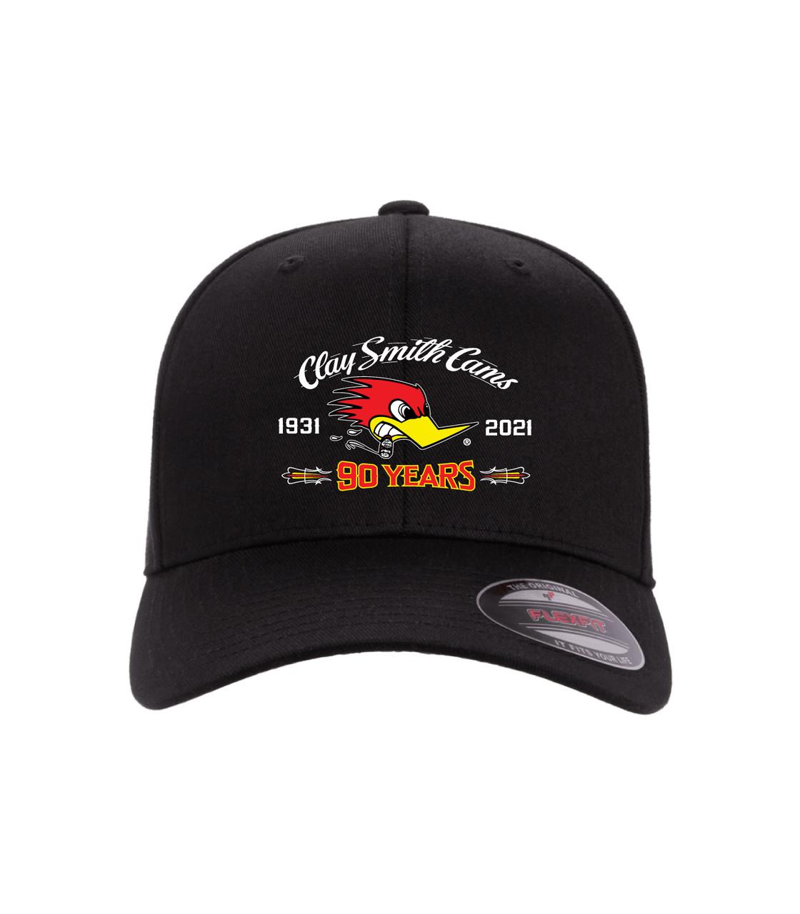 90 Years of American Horsepower Flex-Fit Black Hat
