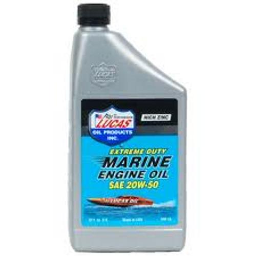 Lucas Oil 20w50 Marine