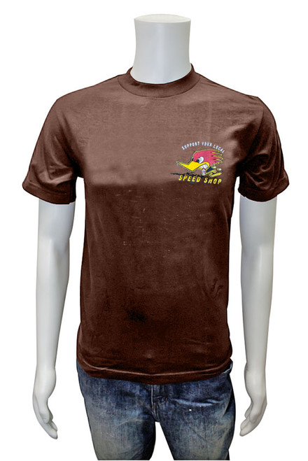 Support your Local Speed Shop T-Shirt Mocha