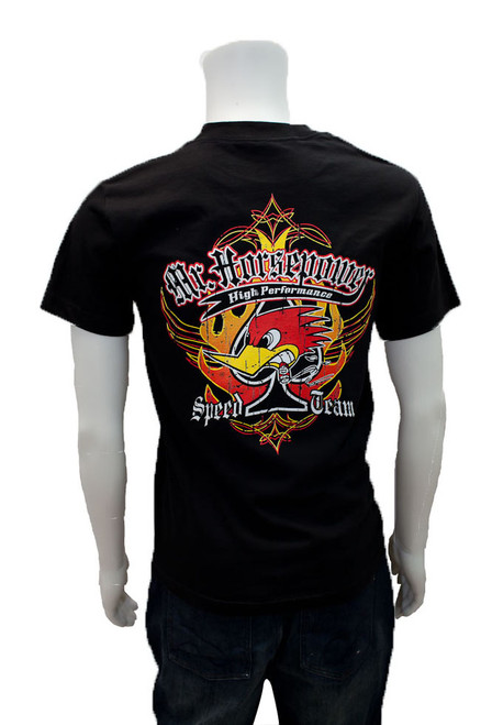 Mr. Horsepower Speed Team Black T-Shirt