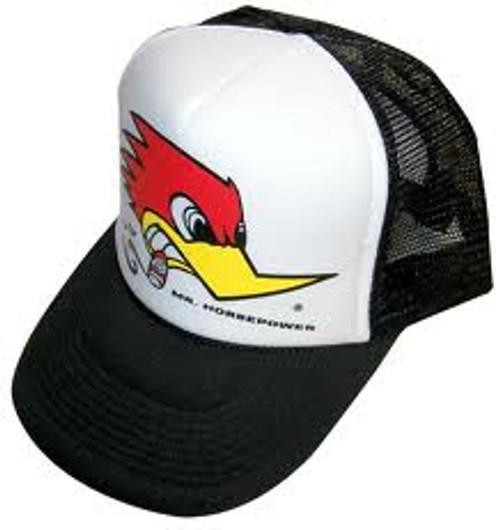 Mr. Horsepower Mesh Adjustable Black Baseball Hat
