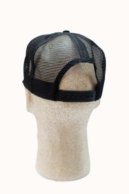 Mr. Horsepower Mesh Adjustable Black Baseball Hat