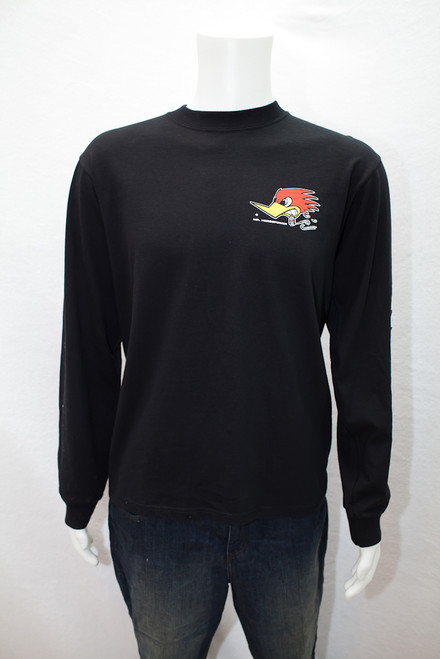 Mr. Horsepower Long Sleeve Black T-Shirt